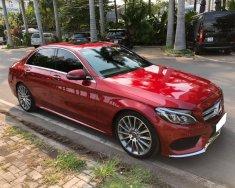 Cần bán gấp Mercedes sản xuất 2017, màu đỏ, như mới giá 1 tỷ 660 tr tại Tp.HCM