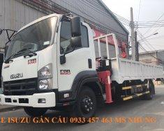 Cần bán xe Isuzu FRR90NE4 gắn cẩu Unic 344 tải trọng 5 tấn, thùng 6 mét 1, 2019, màu chọn giá 1 tỷ tại Tp.HCM