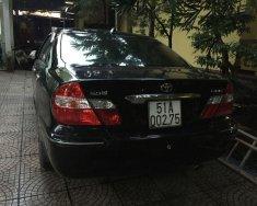 Bán ô tô Toyota Camry đời 2002, màu đen giá 320 triệu tại Bình Dương