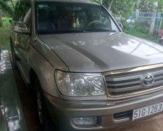 Bán Toyota Land Cruiser năm sản xuất 2002, màu bạc, nhập khẩu  giá 400 triệu tại Ninh Thuận