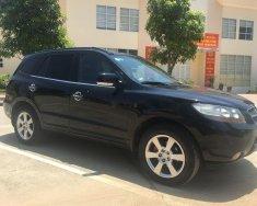Chính chủ bán Hyundai Santa Fe MLX sản xuất 2008, màu đen, nhập khẩu giá 500 triệu tại Hòa Bình