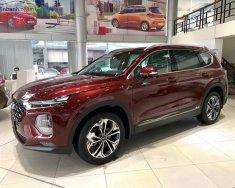 Cần bán xe Hyundai Santa Fe sản xuất 2019, màu đỏ giá 1 tỷ 245 tr tại Tp.HCM