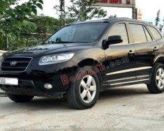 Bán Hyundai Santa Fe 2.2L 4WD đời 2007, màu đen, chính chủ, 435 triệu giá 435 triệu tại Hà Nội
