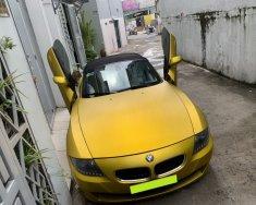 Bán xe BMW Z4 sản xuất 2008, màu vàng, số sàn, giá 615tr giá 615 triệu tại Tp.HCM