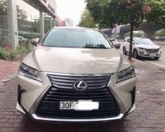 Cần bán Lexus RX350 đời 2018, màu vàng, nhập khẩu giá 3 tỷ 650 tr tại Hà Nội