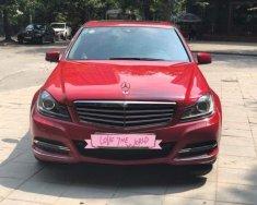 Cần bán xe Mercedes C250 đời 2013, màu đỏ, xe nhập giá 826 triệu tại Hà Nội