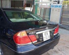 Cần bán Toyota Camry năm 2004, màu đen, giá 345tr giá 345 triệu tại Tiền Giang