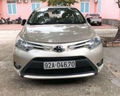 Cần bán Toyota Vios đời 2015, màu vàng, xe gia đình giá cạnh tranh giá 405 triệu tại Quảng Nam