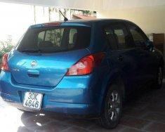 Cần bán gấp Nissan Tiida đời 2008, màu xanh lam, xe nhập giá 350 triệu tại Hà Nội