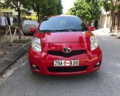 Cần bán lại xe Toyota Yaris AT đời 2011, màu đỏ, nhập khẩu Thái Lan xe gia đình giá 380 triệu tại Hà Nội