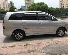 Bán Toyota Innova 2.0E sản xuất năm 2015, màu bạc giá 530 triệu tại Hà Nội