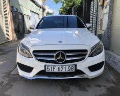 Cần bán xe Mercedes C300 2018, màu trắng giá 1 tỷ 690 tr tại Tp.HCM