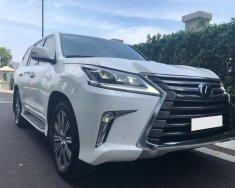 Cần bán Lexus LX 570 Sport Plus năm 2017, màu trắng, nhập khẩu nguyên chiếc giá 6 tỷ 850 tr tại Hà Nội