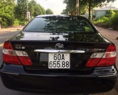 Bán Toyota Camry 2.4G đời 2002, màu đen, xe nhập   giá 275 triệu tại Đồng Nai