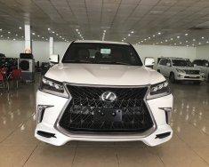 Bán Lexus LX570 4 chỗ sản xuất 2019, 4 ghế Massage, 4 cửa hít, màu trắng, nội thất da bò, xe giao ngay giá 10 tỷ 460 tr tại Hà Nội