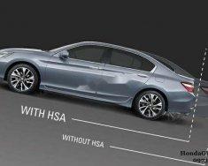 Bán xe Honda Accord CVT 2019, màu bạc, nhập khẩu Thái giá 1 tỷ 200 tr tại Tp.HCM