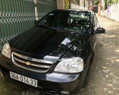Bán xe cũ Chevrolet Lacetti đời 2011, màu đen giá 195 triệu tại Thanh Hóa