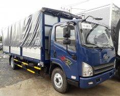Bán xe tải 8 tấn ga cơ, thùng dài 6.2m màu xanh lam giá 500 triệu tại Bình Dương