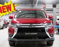 Giá xe Mitsubishi Outlander 2.0 CVT Premium 2019, màu đỏ, KM tặng hấp dẫn bất ngờ, LH 0909076622 giá 908 triệu tại Tp.HCM