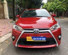 Bán xe lướt nhẹ Toyota Yaris sản xuất 2017, màu đỏ xe gia đình giá tốt 610tr giá 610 triệu tại Hà Nội