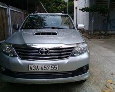 Cần bán Toyota Fortuner 2.5G năm 2013, màu bạc  giá 730 triệu tại Đà Nẵng