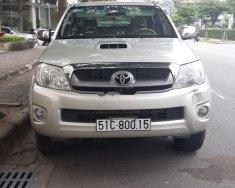 Bán Toyota Hilux năm 2009, màu vàng, nhập khẩu, máy dầu giá 360 triệu tại Tp.HCM
