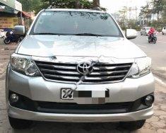 Cần bán xe Toyota Fortuner 2.7V 4x2 AT đời 2012, màu bạc, giá tốt giá 580 triệu tại Hà Nội
