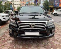 Bán xe Lexus LX 570 đời 2008, màu đen, nhập khẩu nguyên chiếc giá 2 tỷ 390 tr tại Hà Nội