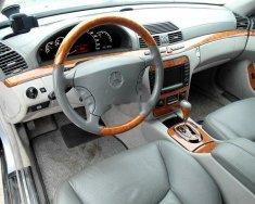 Cần bán gấp Mercedes S500L đời 2005, màu đen, nhập khẩu nguyên chiếc còn mới giá 350 triệu tại Tp.HCM