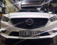 Cần bán Mazda 6 đời 2016, màu trắng, giá 655tr giá 655 triệu tại Tp.HCM