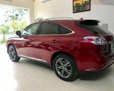 Bán Lexus RX đời 2010, màu đỏ, nhập khẩu chính chủ giá 1 tỷ 358 tr tại Hà Nội