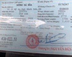 Bán Toyota Venza năm 2009, màu đen, xe còn mới giá 705 triệu tại Đà Nẵng