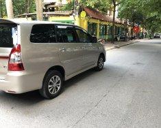 Tôi bán xe Toyota Innova 2.0E, màu ghi vàng, sx 2016, chính chủ, giám đốc sử dụng giá 495 triệu tại Hà Nội