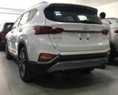 Bán Hyundai Santa Fe 2.4L HTRAC đời 2019, màu trắng, giá tốt giá 1 tỷ 140 tr tại Hà Nội