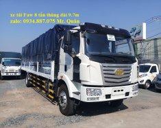 Bán xe tải Faw 8 tấn (8T) thùng dài 9.8 mét chuyên chở mút xốp, pallet giá 970 triệu tại Tp.HCM