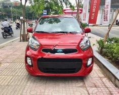 Cần bán xe Kia Morning sản xuất 2019, màu đỏ giá 339 triệu tại Tp.HCM