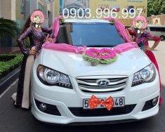 Cần bán gấp Hyundai Avante 1.6 AT đời 2011, màu trắng chính chủ giá 360 triệu tại Tp.HCM