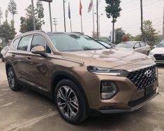 Bán xe Hyundai Santa Fe sản xuất 2019, màu nâu, nội thất đẹp giá 1 tỷ tại Tiền Giang