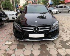 Cần bán xe Mercedes C300 AMG 2015, màu đen giá 1 tỷ 380 tr tại Hà Nội