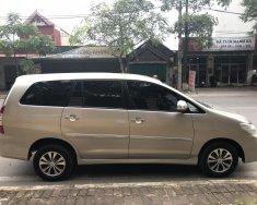 Bán gấp xe Innova 2.0E màu nâu vàng, sx cuối 2015, cá nhân sử dụng từ đầu giá 485 triệu tại Hà Nội