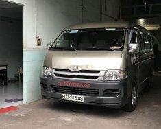 Cần bán lại xe Toyota Hiace MT năm sản xuất 2009, xe nhập, giá chỉ 330 triệu giá 330 triệu tại Tp.HCM