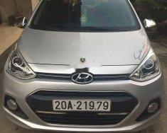 Cần bán lại xe Hyundai Grand i10 năm 2017, màu bạc, xe nhập, giá tốt giá 330 triệu tại Thái Nguyên