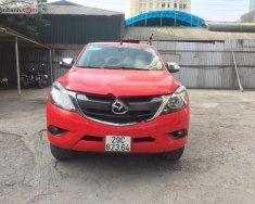 Cần bán lại xe Mazda BT 50 2.2L 4x2 AT sản xuất 2016, màu đỏ, xe nhập chính chủ giá 500 triệu tại Hà Nội