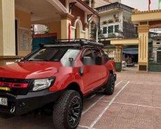 Cần bán gấp Ford Ranger Wildtrak 3.2 4x4 AT năm 2015, màu đỏ, nhập khẩu, giá tốt giá 620 triệu tại Hà Nội