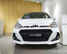 Bán Hyundai Grand i10 đời 2019, màu trắng, giá 395tr giá 395 triệu tại Tp.HCM