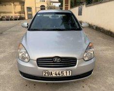 Cần bán Hyundai Verna đời 2007, màu bạc, nhập khẩu   giá 145 triệu tại Phú Thọ