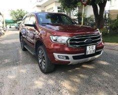 Bán Ford Everest sản xuất năm 2018, màu đỏ, nhập khẩu, số tự động giá 1 tỷ 278 tr tại An Giang