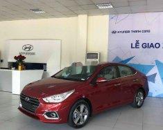 Bán Hyundai Accent đời 2019, màu đỏ, nhập khẩu   giá 420 triệu tại Hà Nội