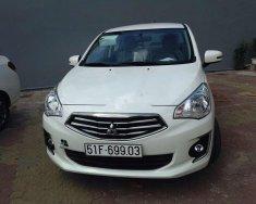 Cần bán gấp Mitsubishi Attrage 2016, màu trắng, xe nhập giá 299 triệu tại Tp.HCM