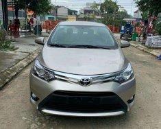 Cần bán lại xe Toyota Vios đời 2017, màu bạc xe nguyên bản giá 495 triệu tại Thanh Hóa